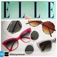 @Dita Eyewear #magnifique featured in Elle #magazine. #available to #purchase at #eyewearbyolga #ebo #MAGNIFIQUE #pink #pinkvibes #editorpick #eyewear #eyestyled #lef #luxury #luxe #japan #madeinjapan #handmade #swag #styled #style #fashion #frames #sunglass #sunnies #acetate