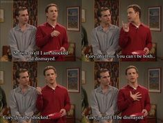 Absolutely love this moment from Boy Meets World. I love Corey and Shawn!