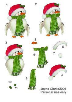 : Freebie Christmas Decoupage