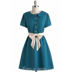 Tulle Clothing Teal My Breath Dress (520 MXN) ❤ liked on Polyvore featuring dresses, modcloth, elastic waist dress, teal blue dresses, stretch dress, blue dress and tulle clothing