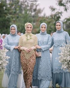 Kebaya Modern Hijab, Kebaya Hijab, Kebaya Dress, Kebaya Muslim, Muslim Dress, Dress Muslim Modern, Dress Brokat, Kebaya Wedding, Muslimah Wedding Dress
