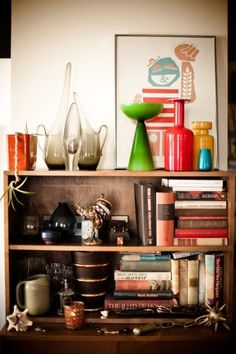 Collected objects + more snaps of an editor's home. Photos by Mike Rosenthal.