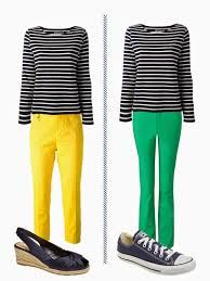 Image result for Stripe yellow and white outfits