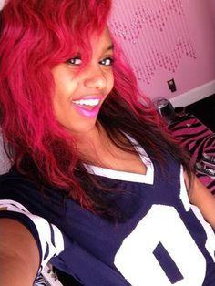 Bahja Rodriguez Omg Girlz Fuchsia Hair Color - OMG Girlz Hairstyles