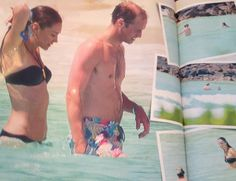 Prince William and Kate during the Seychelles Honeymoon in 2011's