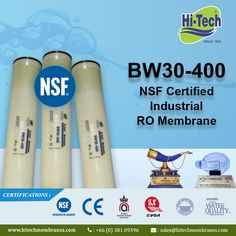 400 RO Membrane for Water Filtration. http://www.hitechmembranes.com/product/bw30-400-ro-membrane/