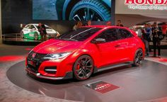Honda Civic Type R Concept Wowing Geneva