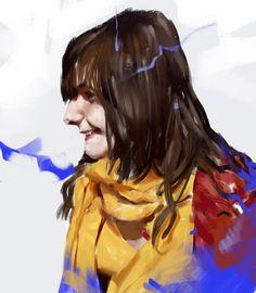 Girlfriend study by Zedig on deviantART
