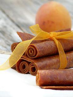 Rubans d'abricots (cuir de fruits)