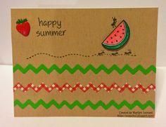 ~ Marilyn's Crafts ~: SBC June Card Kit