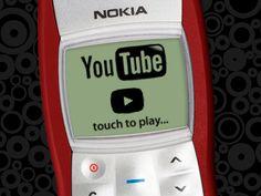 YouTube app on Nokia 1100 / Jan Kačer