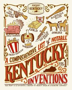 Branding Brand Kentucky for Kentucky: A Comprehensive List of Notable Kentucky Inventions     Click the image to view more!