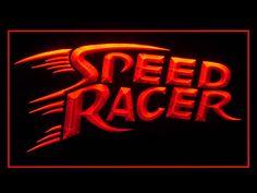 Speed Racer Bar Pub Neon Light Sign