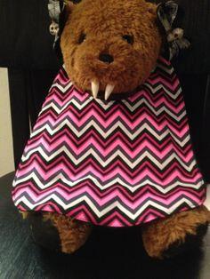 Pink Chevrons Baby Bib by babybatboutique on Etsy, $10.99
