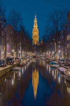 Oude Kerk Amsterdam  by Marcel Eringaard