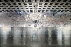 Rudolf Stingel 2007 exhibit at the Whitney Museum of American Art