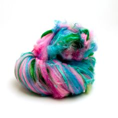 Fiber Batt  Art Batt  Fiber Art Batt for Spinning or by HelloPurl, $34.00