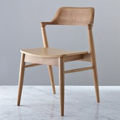 Natural Helen James Considered Gobi Chair Chair Oak Chair Solid Oak