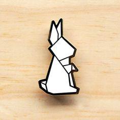 Rabbit pins - A hug porcupine