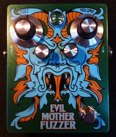 Evil MotherFuzzer! Pablo van de Poel Signature, Germanium NOS AC128 Fuzz. Only 74 copies are being build!