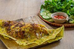 Crispy Vietnamese pancakes