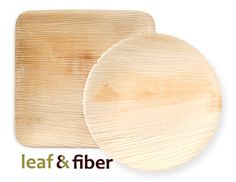 Leaf and Fiber disposable, compostable plates & bowls made from fallen leaves