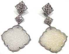 Dannii saw the X Factor out in style with these earrings from Annoushka's Bochic rangge