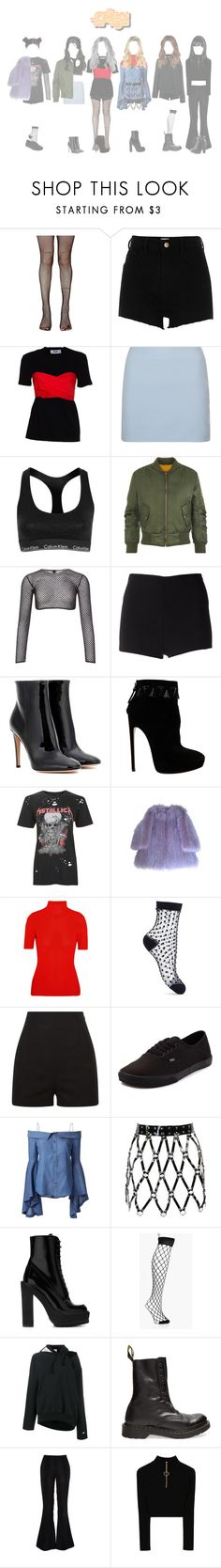 """┇ SEXY ┇ MUSIC CORE - COME OUT"" by dreamcatcher-official ❤ liked on Polyvore featuring Leg Avenue, River Island, MSGM, Calvin Klein, WearAll, PA5H, Martin Grant, Gianvito Rossi, Alaïa and Topshop"