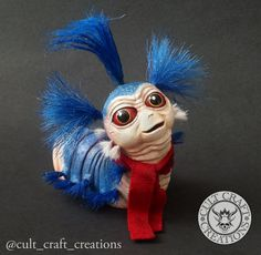 The Labyrinth Worm resin figure kit van CultCraftCreations op Etsy