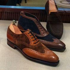 CARMINA — Carmina Shoemaker . Wingtip shoe and boot . Ideal...