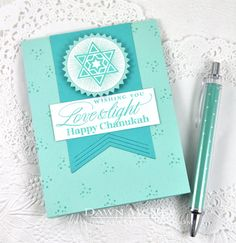Love & Light Card by Dawn McVey for Papertrey Ink (October 2014)
