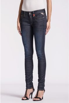 Replay luz skinny women's jeans