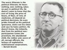 Politically Illiterate