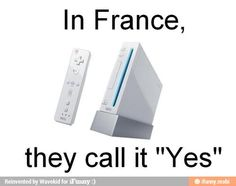 Wii in France  :)