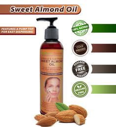 5 Items Sweet Almond Oil Can Replace...Saving You Money - http://store.southernzoomer.com/products/sweet-almond-oil or on Amazon at http://www.amazon.com/Sweet-Almond-Oil-Moisturizing-Aromatherapy/dp/B00KM9JG3G/ie=UTF8?m=A206NYKXKBZS6K&keywords=almond+oil