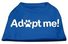Adopt Me Screen Print Shirt Blue Lg (14)