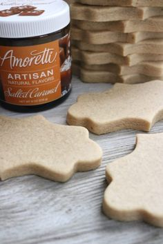 Salted Caramel Sugar Cookies ~ 6 Cakes & More, LLC - Salted Caramel Sugar Cookies stacked The Effective Pictures We Offer You About recipes for kids A - Iced Cookies, Royal Icing Cookies, Sugar Cookies Recipe, Cake Cookies, Cookies Et Biscuits, Salted Caramel Sugar Cookie Recipe, Caramel Cookies, Cut Out Cookie Recipe, Cut Out Cookies