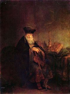 All of Rembrandt's Paintings | Rembrandt - Old Rabbi