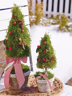 Dekorative Gartenideen im Winter - Wunderweib