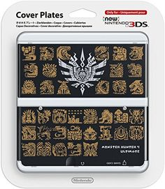 Nintendo New Cover Monster Hunter 4 Ultimate Monster Hunter 4 Ultimate, Monster Hunter Art, Nintendo 3ds, New 3ds, Cover, Video Games, Plates, Blog, Consoles