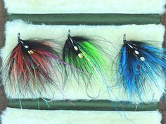 3 Hoh Bo Spey Articulated shank Steelhead Salmon Fly Fishing Flies BC Alaska