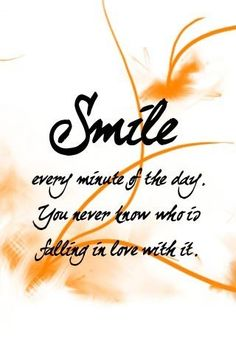 We love this quote! Are falling in love with your smile too? Everyone deserves to love their smile.