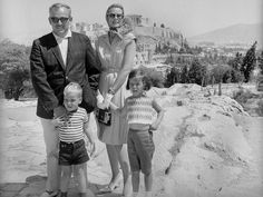 PRINCE RAINIER III AND PRINCESS GRACE OF MONACO Athens, Greece, 1961