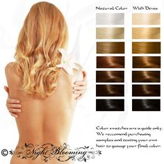 Blonde/Colorless Devas Fairy Herbal Hair Color and Conditioner 100g. $14.00, via Etsy.