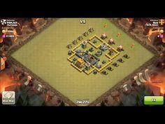 Clash of Clans TH6 vs TH6 Giant, Archer & Healer (No Spells) Clan War 3 Star Attack ⋆ Clash of Clans 3 Stars Clan Wars