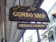Gumbo Shop in New Orleans.
