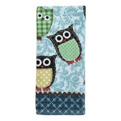 Owls Print Kitchen Towel Owl Kitchen Owl Print Frame