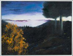 """Kathi Erickson - """"Chuckanut Drive"""" - Oil on panel, 2013 - Silent Auction"""