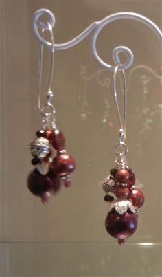 Claudia beaded earrings