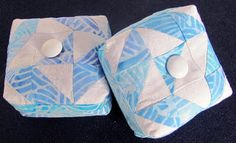 FREE project: Winter Star Pincushion (from Peck's Pieces)